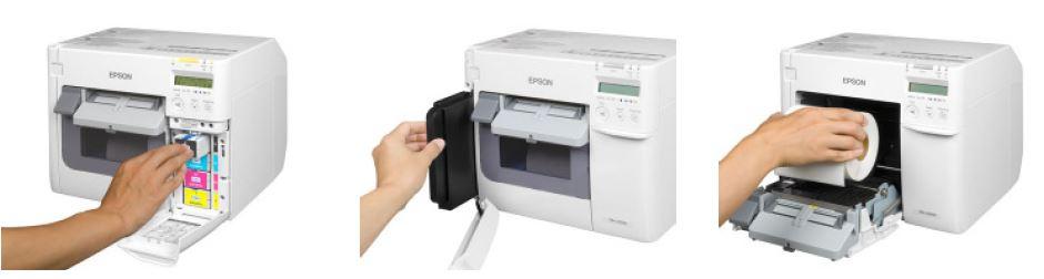 Namen-Schilder Drucker Epson C3500 sind eine gute Lösung