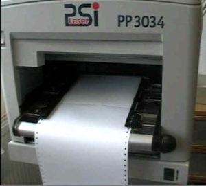 PP-3034 Endloslaser-Drucker drucken UPS Etiketten im Versand