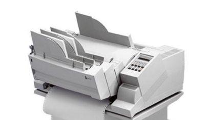 Nadel-Drucker PP405 mit Flachbett-Technologie