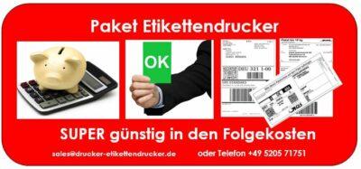 Paket-Etiketten für DHL, DPD, UPS, TNT, GLS