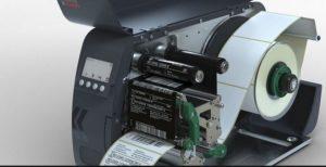 Paketschein-Drucker für lesbare Datamatrix-Codes oder Strichcodes