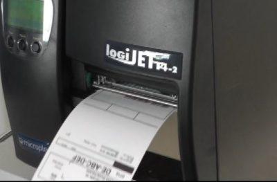 Peeler Drucker logiJET T4-2