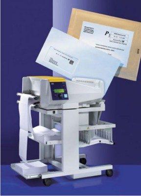 Post-Etiketten mit Endlos-Laserdrucker