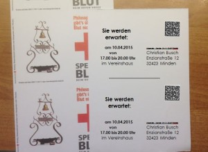 Postkarten drucken von Endlos- auf Einzelblatt-Format