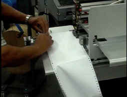 Produktionsdrucker im Zeitungsversand