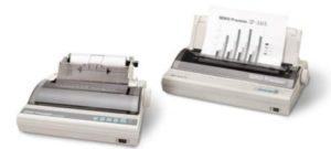 Protokoll-Drucker SEIKO SP-2400 wurden vor Jahren abgekündigt