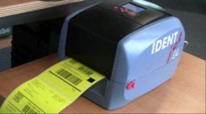 SASS-IDENTjet-D4 für UPS-Versandaufkleber