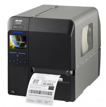 SATO-CL4NX PLUS sind optional Drucker für Linerless-Etiketten