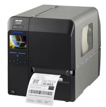 SATO CL4NX Etikettendrucker mit Peel-off-Funktion