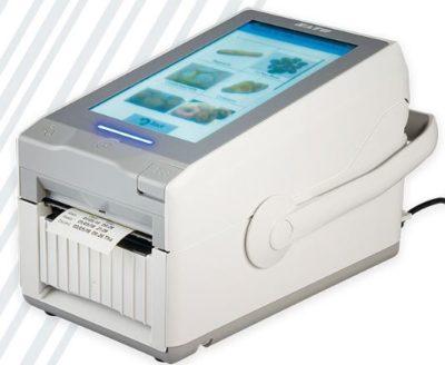 SATO FX3-LX - das sind die kleinen Etikettendrucker mit dem großen Bildschirm / Touchscreen