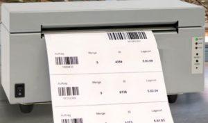 PDF-Thermotransferdrucker für Ihre Barcode-Ausgabe.