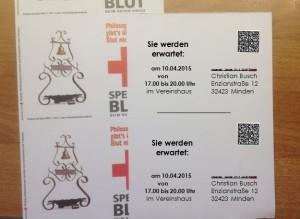 EZ-6300 drucken Serienpostkarten und vereinzeln von Endlos- auf Einzelblatt-Format