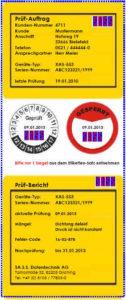 Sicherheitsetiketten mit dem Thermotransfer-Drucker personifizieren
