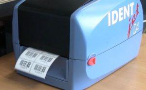 Sicherheitsetiketten drucken auf Blanko-Etiketten-Satz
