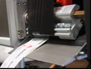 Sparen beim Etikettendruck per Folienspar-Funktion