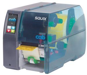 SQUIX Etikettendrucker mit Spendefunktion