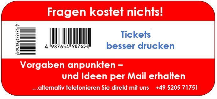 Drucker für Stadion-Tickets