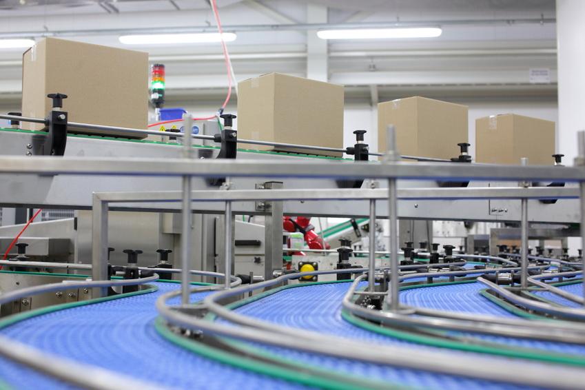 220xi4 Industrie-Drucker in der Logistik