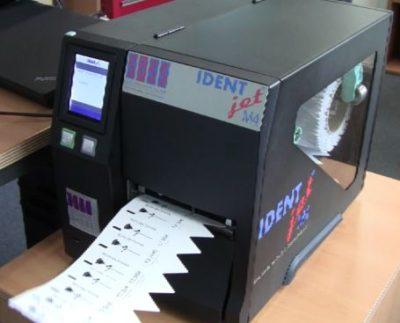 Stecketiketten-Drucker im Außenbereich
