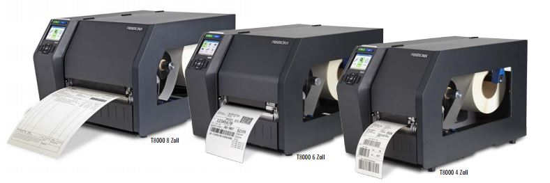 T8306 von Printronix Auto ID sind auch als Thermodirekt-Drucker einsetzbar