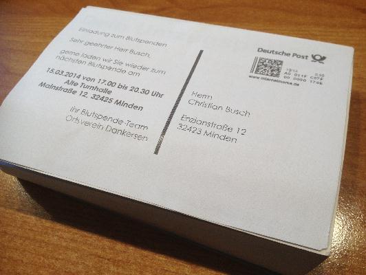C-650 PLUS 2 / C650+II / MOS-4650II - Postkaten-Druck geht ganz einfach.