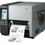 TTP-2610MT können sowohl Endlosmaterial von der Rolle, als auch z-gefaltetes Material verarbeiten