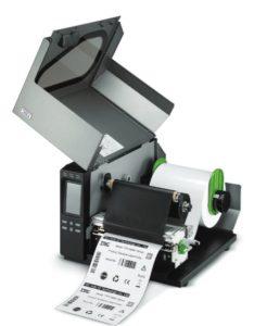 TTP-286MT werden mit langen Druckfolien bestückt