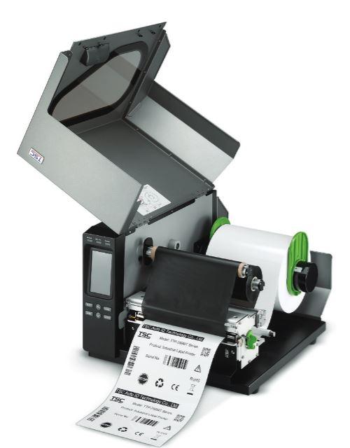 TTP-384MT verfügen über eine Aufnahme von 600 Meter langen Druckfolien.