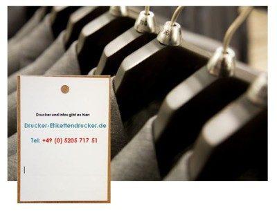 Druck von Textil-Etiketten