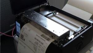 Thermodirektdrucker OHNE Farbband für kurzlebige Belege.