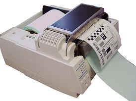 Etikettendrucker für das Thermo-Verfahren benötigt kein Farbband