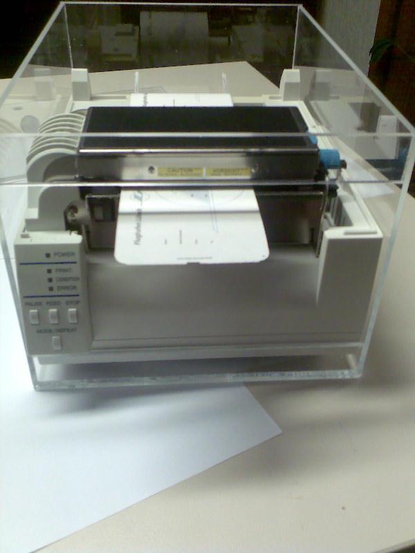 Thermodirekt-Etikettendrucker für den Ticketdruck