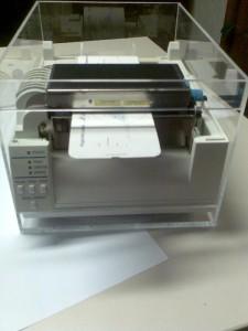 Besucherausweise werden häufig per Thermodirekt- oder per Thermotransferdrucker erstellt.