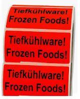 Tiefkühlware etikettieren