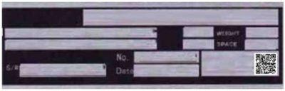 Typenschilder drucken mit lesbaren 2D-Codes erleichtern die Revision und Ersatzteil-Bestellung