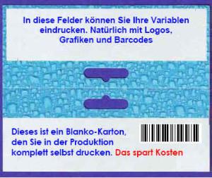 Flachbett-Drucker für Verpackungsdruck mit Eurolochung