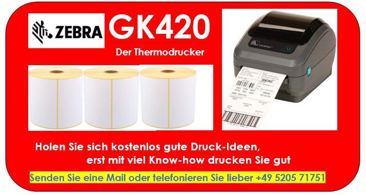 Versandetiketten für UPS, DHL, GLS u.a.