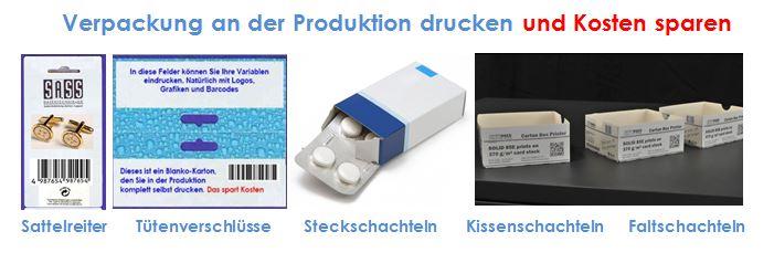 Vollfarb-Etikettendrucker drucken B- und C-Verpackung und sparen Kosten