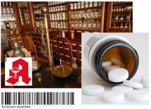 Waren-Kennzeichnung Apotheke mit IDENTjet Etikettendrucker