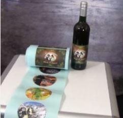 Flaschenetiketten-Drucker für professionelle Ausdrucke