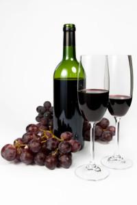 Weinflaschenetiketten