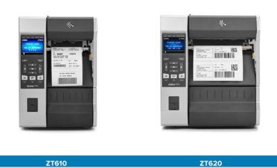Zebra ZT610 und ZT620 verfügen über eine komfortable Bedienung.