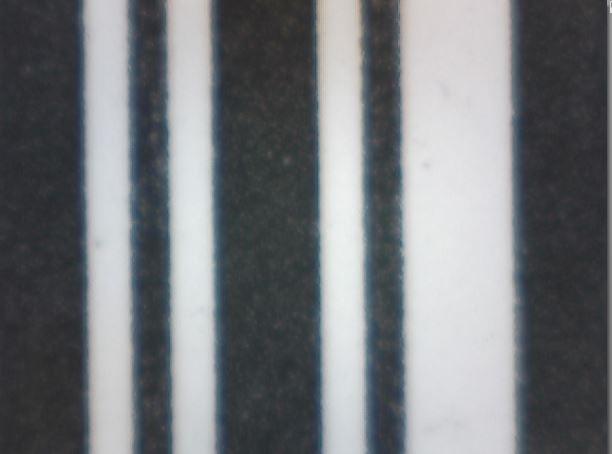 IDENTjet DT-8 sind drucken klare Barcode-Linien