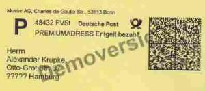 MICROPLEX Industrie-Drucker mit cab-Emulation hat die Deutsche Post zertifiziert