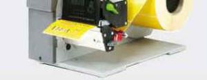 Abreiß-Funktion beim cab-Drucker