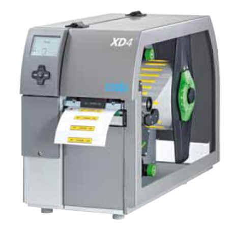 cab XD4 Duplexdrucker für den beidseitigen Druck