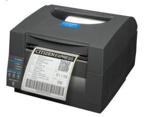 cls521 von Citizen sind super Etikettendrucker