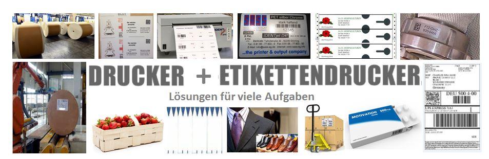 Drucker-Etikettendrucker und Lösungen
