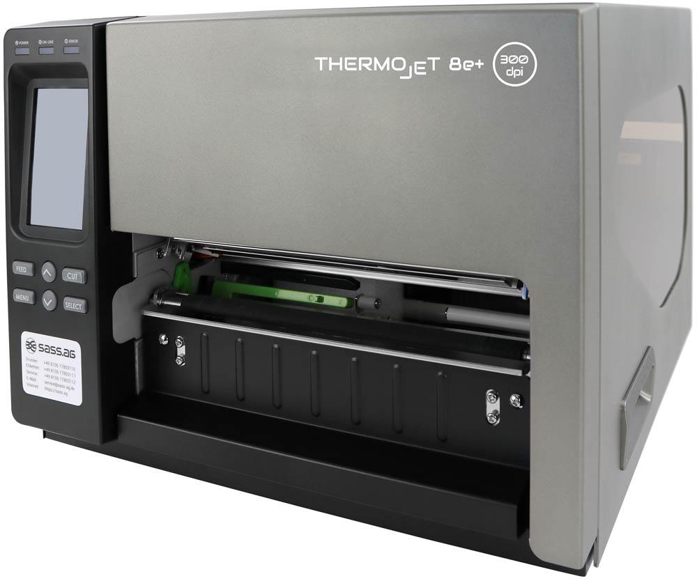 THERMOjet 8e+arbeiten ohne Farbband